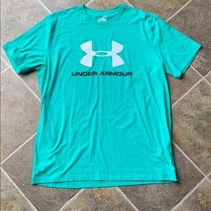 Under armour size xl light teal shirt